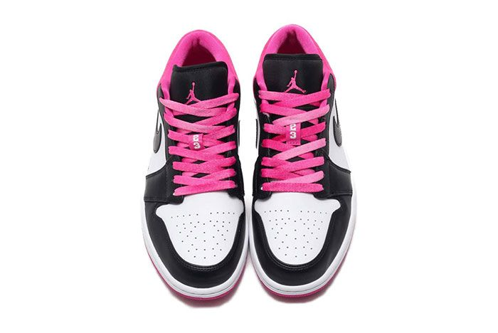 Air Jordan 1 Low Active Fuchsia Top 2