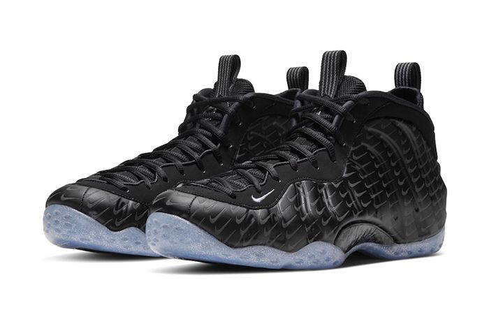 Nike Air Foamposite One Black Mini Swooshes Leak Release Date Pair