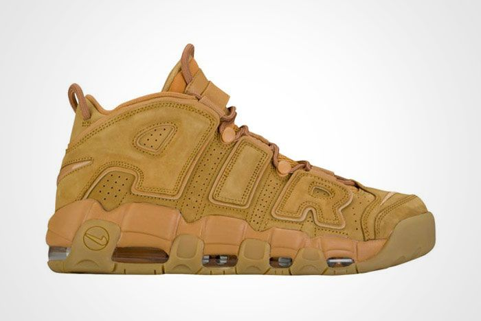 Nike Air More Uptempo Wheat Brown Thumb