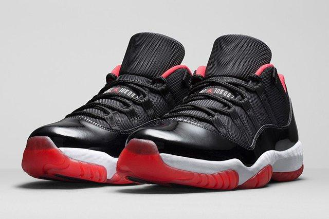 Air Jordan 11 Low Bred Bumper 1