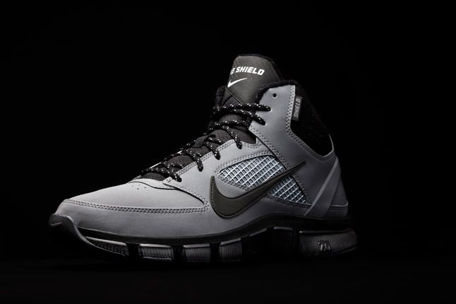 Nike Free Trainer 7 0 Shield Silver Quater 1