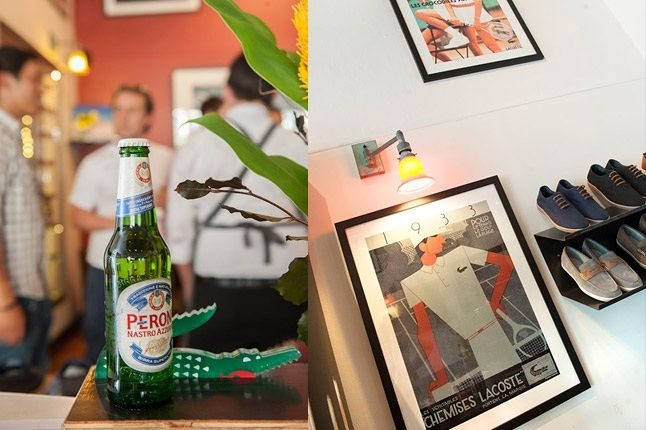 Lacoste X Beggar Man Thief 80 Years Exhibition Beer And Wall Adornments 1
