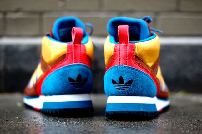Adidas Zx Tr Mid Brown 5