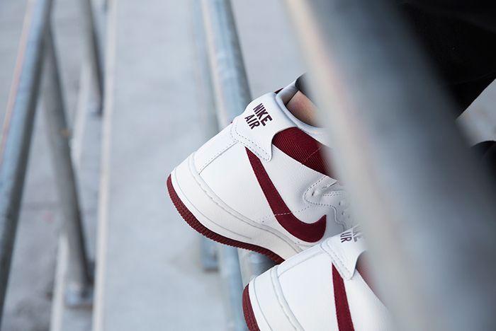Nike Air Force 1 High Red Burgundy