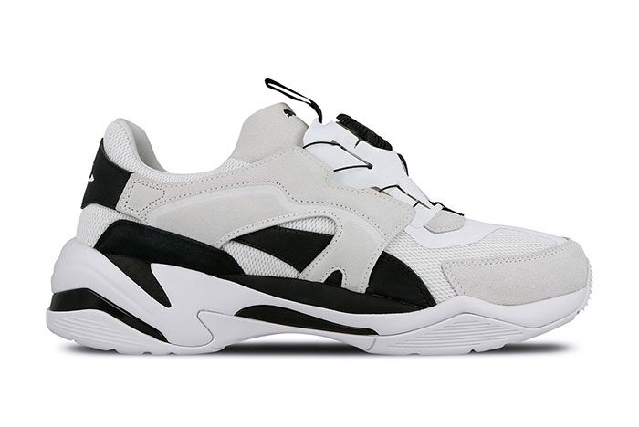 Puma Thunder Disc White Right