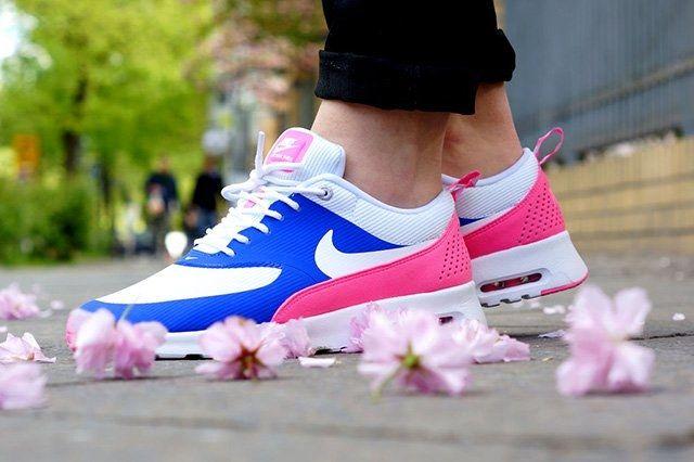 Nike Air Max Thea Game Royal Pink Glow 5