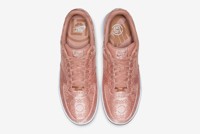 Clot Nike Air Force 1 Rose Gold Cj5290 600 Top