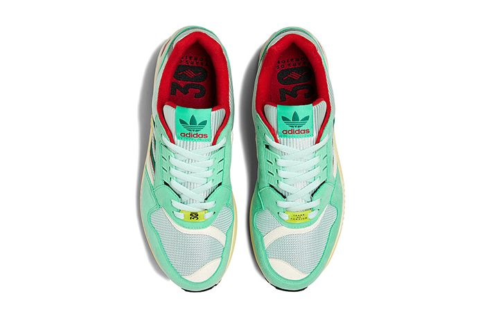 Adidas Zx 9000 Mint Scarlet Yellow Fu8403 Release Date Top Down