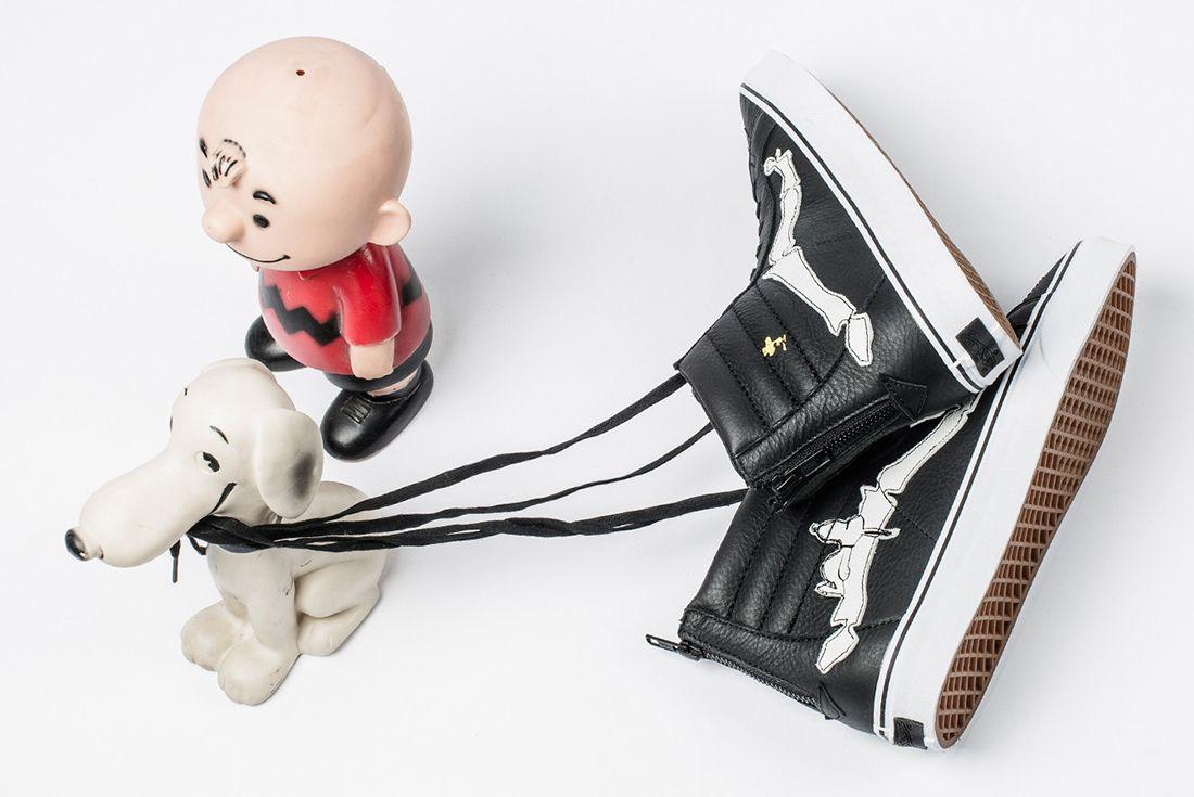 Blends X Peanuts X Vans Sk8 Hi Reissue Zip6