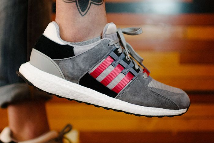 Adidas Eqt Support 93 16 Grey Red Thumb