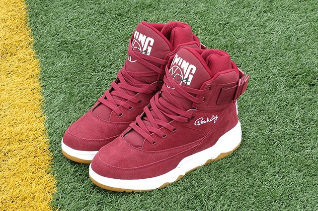 Ewing Athletics 33 Hi Burgundy 1