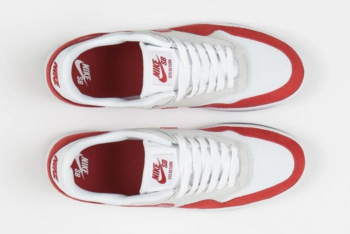 Nike Sb Gts Return Air Max 1 Sport Red Top