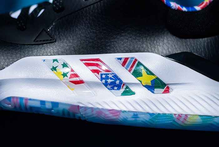 Adidas Fiba Ball Around The World Pro Bounce Low 4 Close Up