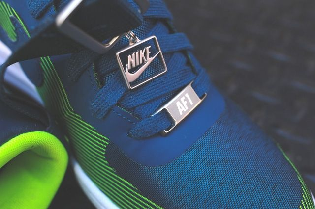 Nike Lunar Force 1 Sky Hi Jacquard Space Blue 2