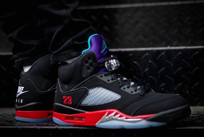Air Jordan 5 Top 3 Cz1786 001 On Feet Release Date 6 Leak
