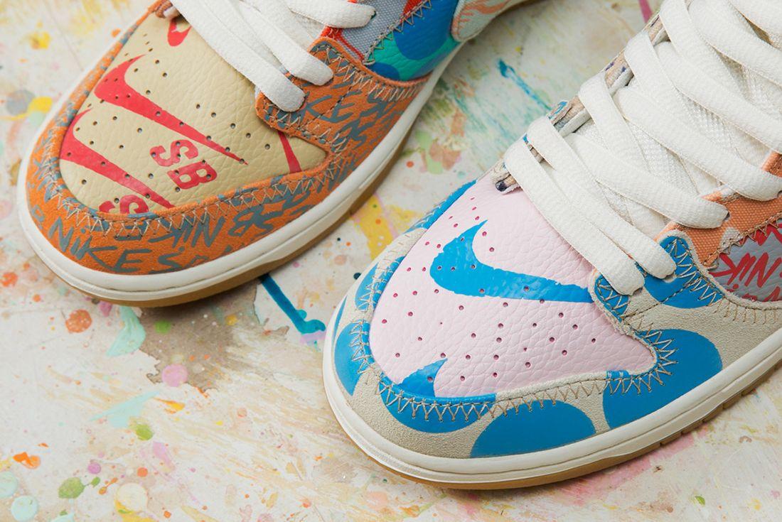 Thomas Campbell X Nike Sb Dunk High Premium What The3