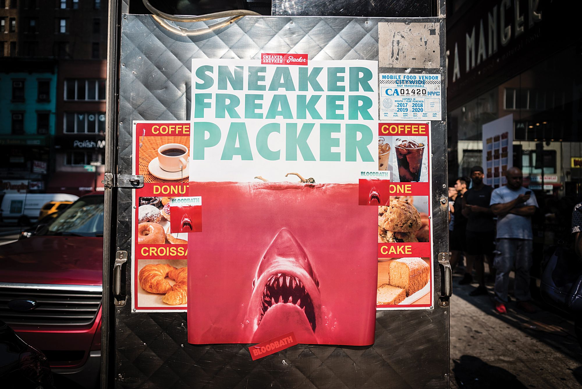 Sneaker Freaker x Packer x PUMA 'Bloodbath' launch in New York