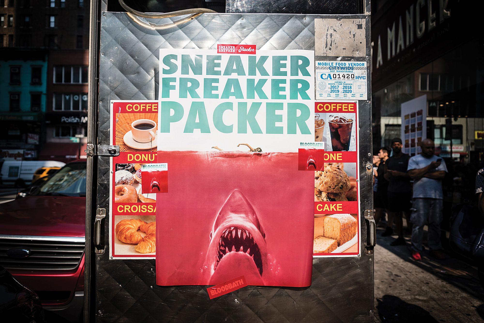 Sneaker Freaker x Packer x PUMA 'Bloodbath' launch in New York