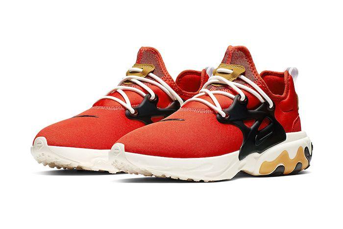 Nike React Presto Tomato Tornado Av2605 600 Release Date Pair
