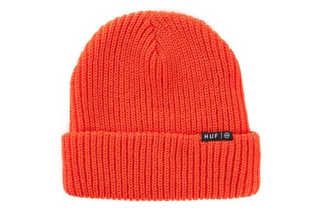 Huf Orange Beanie 1
