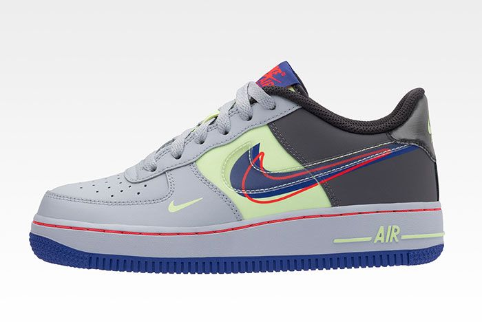 Nike Evolution Of Swoosh Dunk It Air Force 1