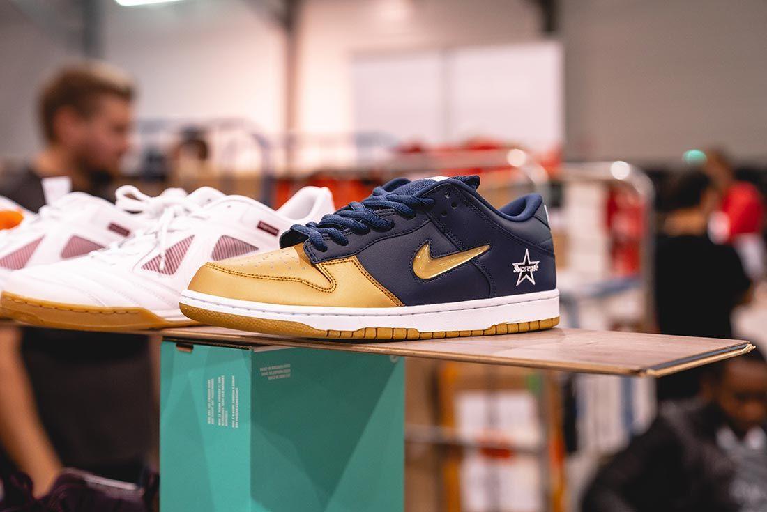 Sneakerness Paris Supreme Nike