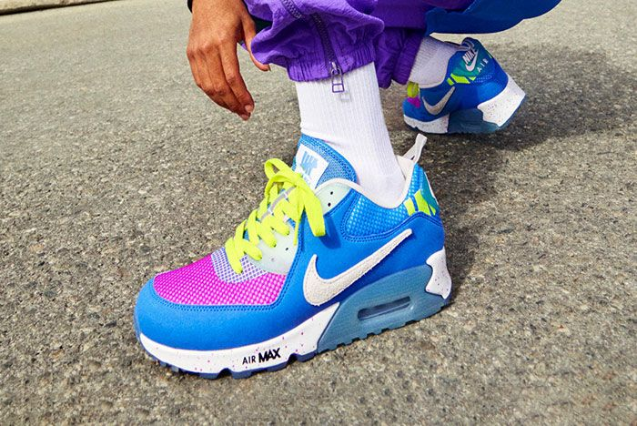Undftd Nike Air Max 90 Blue 2 Official Lookbook