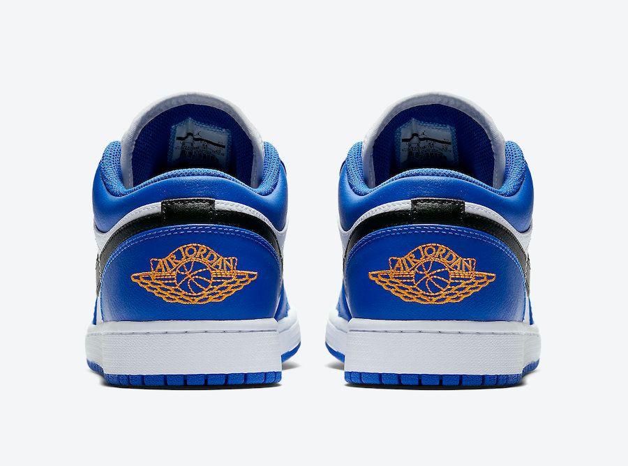 Air Jordan 1 Low Blue Orange