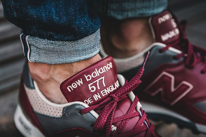 New Balance 577 Made In England Burgundy 1