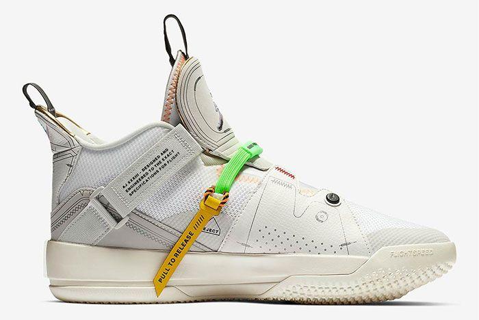 Air Jordan 33 Vast Grey Right