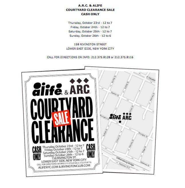 Alife Clearance Sale 2