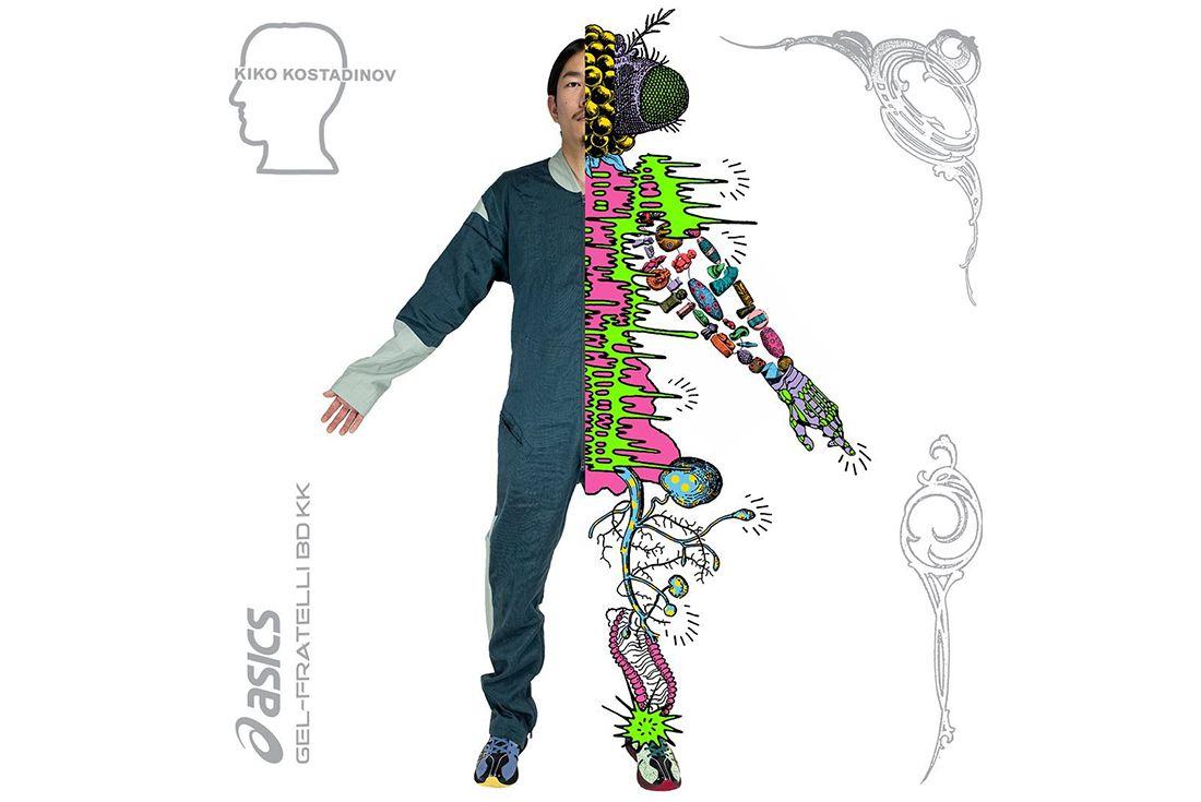 Brain Dead Kiko Kostadinov ASICS GEL-Fratelli