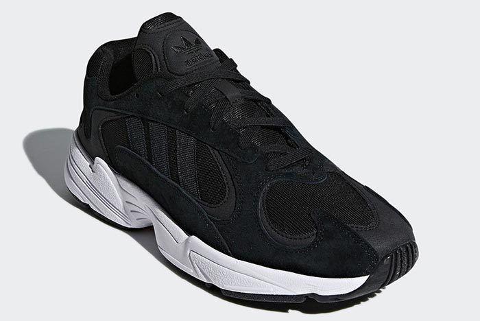 Adidas Yung 1 Black White 4