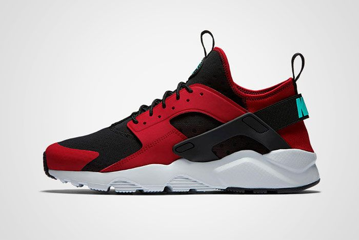 Nike Huarache Ultra Red Black Thumb