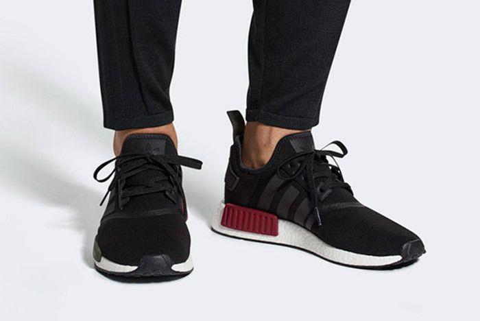Adidas Nmd R1 Burgundy Olive Sneaker Freaker 4