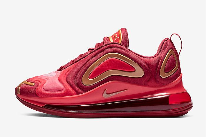 Nike Air Max 720 Team Crimson Left