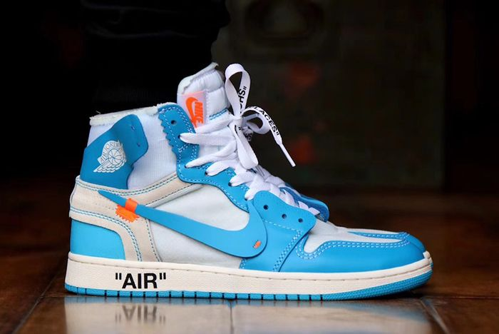 Off White Aj1 Unc On Foot 1