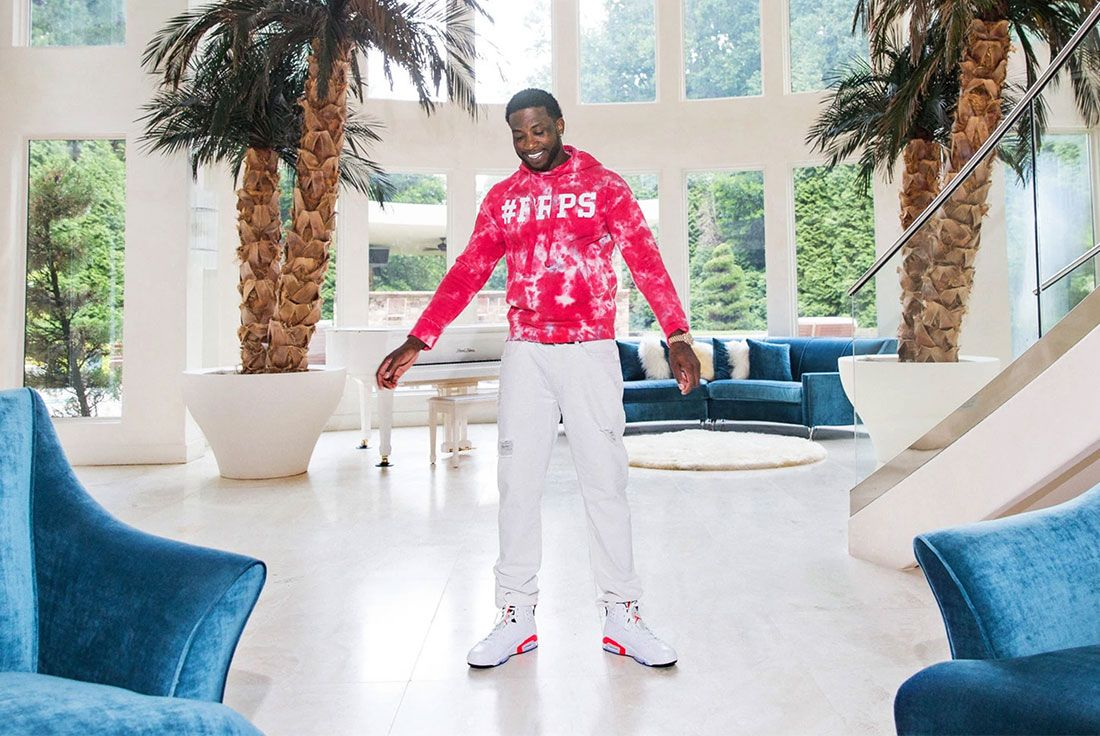 Gucci Mane Air Jordan 6 White Infrared Damon Winter Nyt