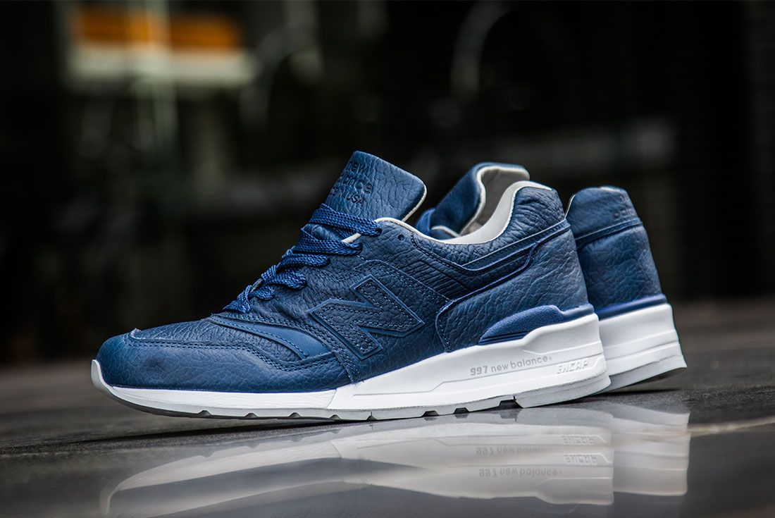New Balance 997 Bison Pack Navy 3