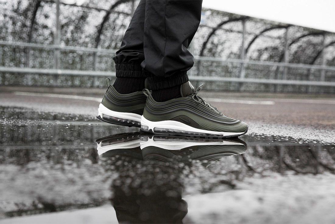 Nike Air Max 97 Ultra Premium Cargo Khaki Sneaker Freaker 3