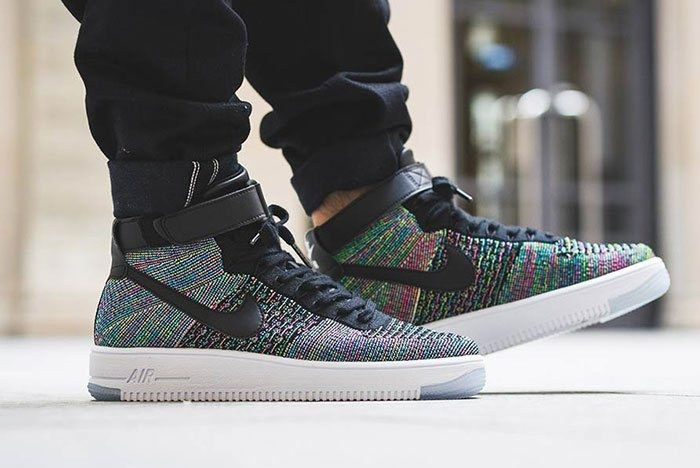 Nike Air Force 1 Flyknit Ultra Multicolour 4