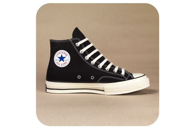 Converse 1970S Chuck Taylor All Star Black Single On Sepia 1