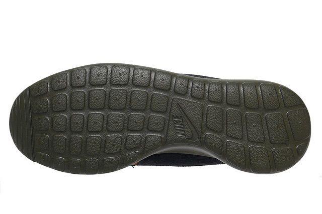 Nike Roshe Run Sneakerboot Darkloden Mineral Teal 3