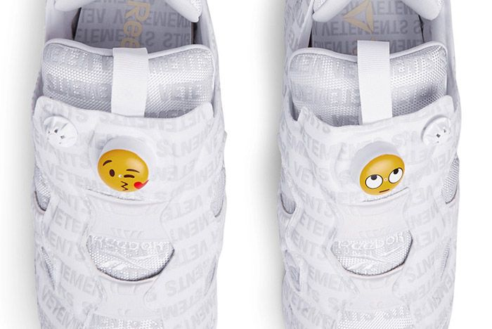 Vetements X Reebok Instapump Emoji