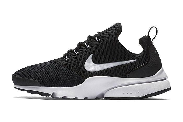 Nike Air Presto Fly Black White