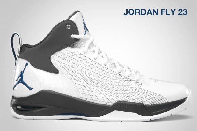 Jordan Fly 23 White 1