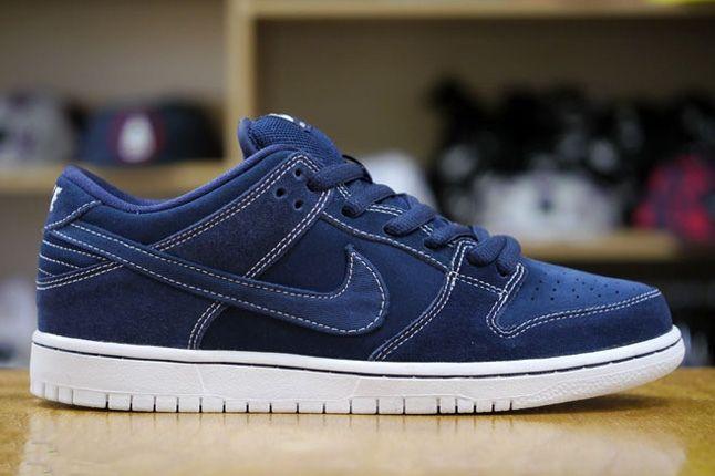Nike Sb Dunk Low Pro Midnight Navy 5