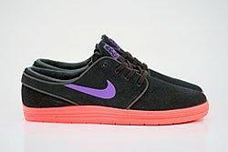 Nike Sb Lunar Stefan Janoski Black Hyper Grape Hyper Punch Dp