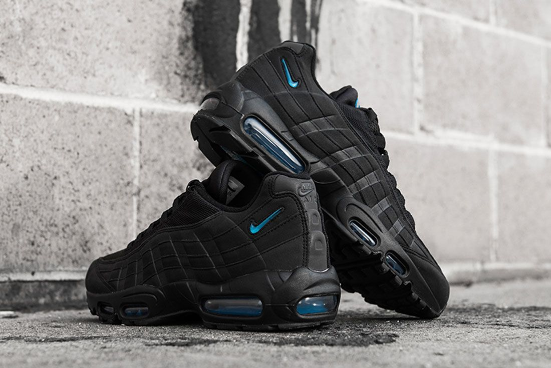 Nike Air Max 95 Imperial Blue Concrete Heel