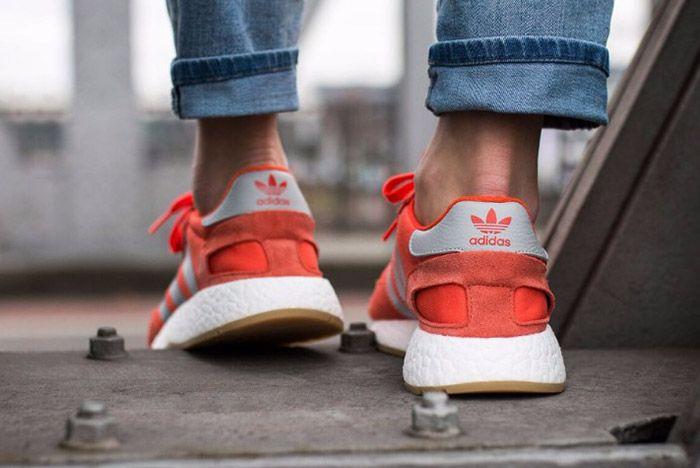Adidas Iniki Runner Womens Energy Red 4